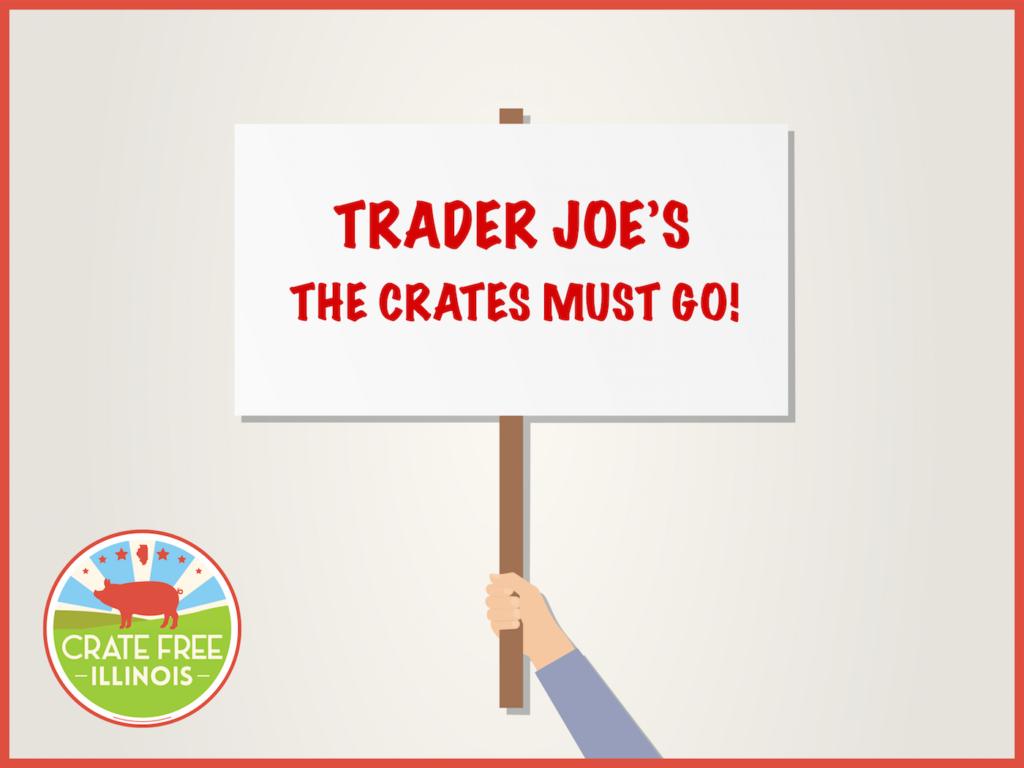 Trader Joe's Picket Sign