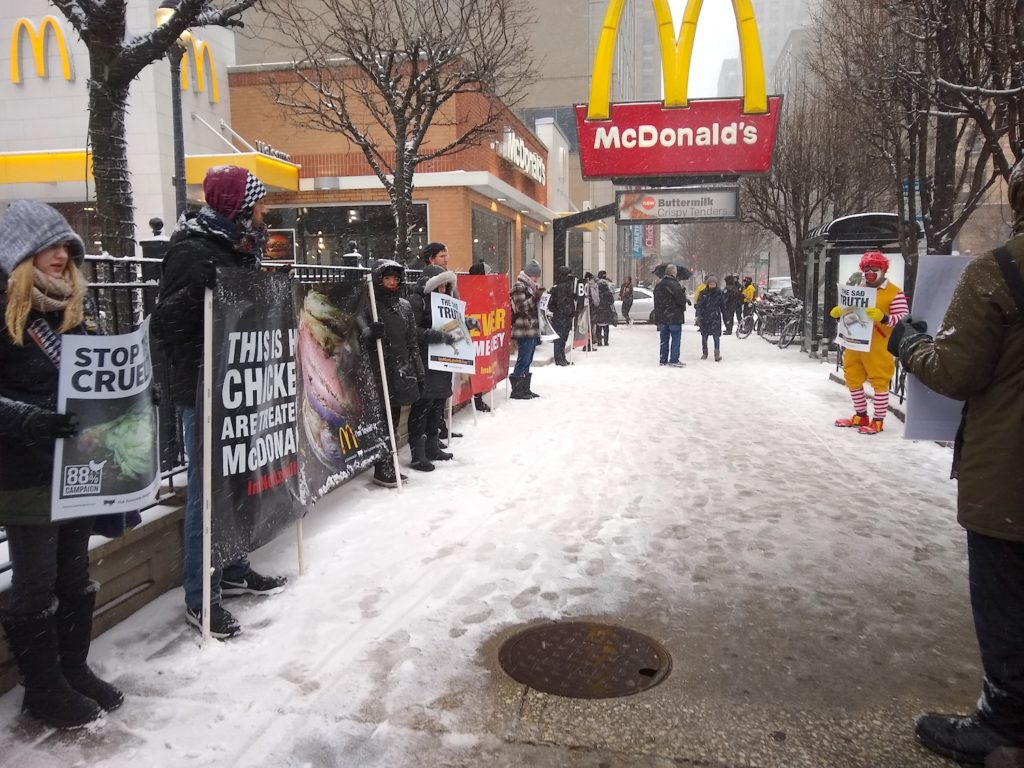Mcds Protest